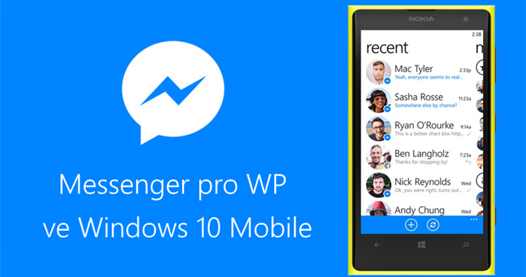 Jak nainstalovat starý Facebook Messenger z Windows Phone do